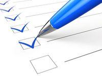 Checkliste Vergaberecht